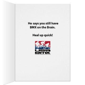 Os EUA BMX obtêm o cartão bom