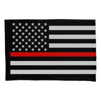 Os EUA embandeiram a linha vermelha fina memorial
