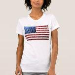 Os EUA embandeiram brilhos dos sparkles do Tshirts