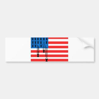Os EUA embandeiram com bombas de queda Adesivo Para Carro