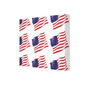 Os EUA embandeiram nas canvas (telhadas)