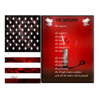 Os EUA embandeiram o cartão memorável comemorativo Cartões Postais