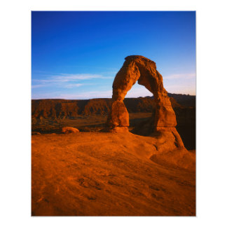 Os EUA, Utá, arqueiam o parque nacional, arco Posters