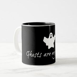 Os fantasmas são minha caneca dos roomies 11oz