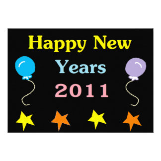 Os felizes anos novos 2011