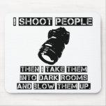 Os fotógrafo são tão violentos mousepad
