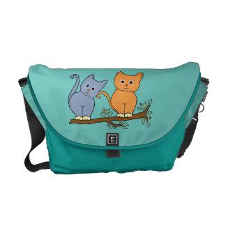 os gatos bolsa mensageiro
