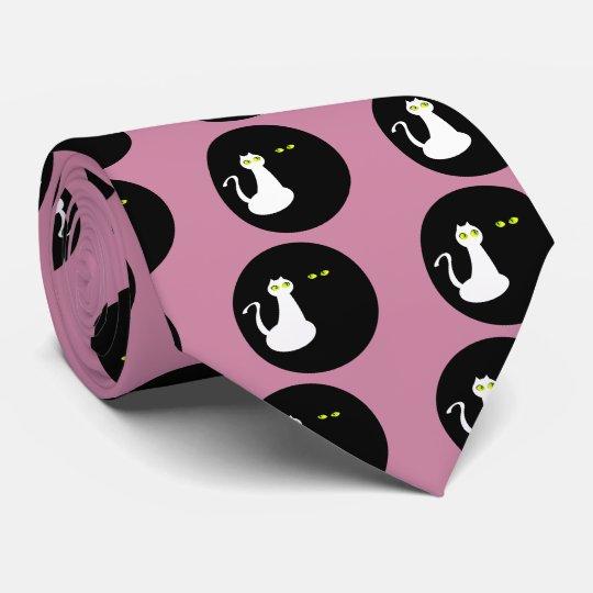 Os gatos do amor refrigeram os opostos bonitos gravata