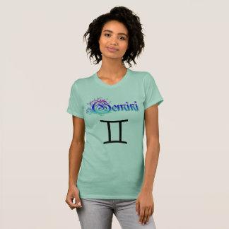 Os Gêmeos do sinal do zodíaco do horóscopo juntam Camiseta