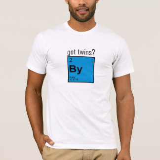 Os gêmeos obtidos esquadraram o t-shirt! camiseta