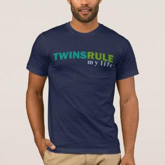 OS GÊMEOS ORDENAM meu t-shirt da vida Camiseta