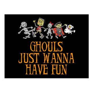 Os Ghouls apenas querem ter o cartão do