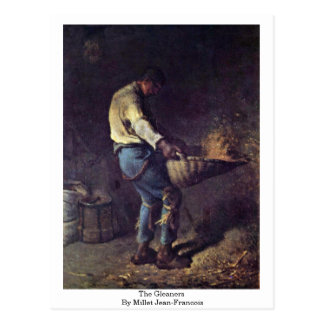 Os Gleaners pelo painço (ii) Jean-Francois Cartão Postal