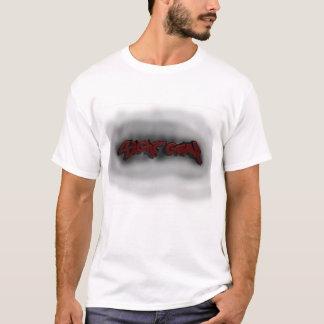 Os grafites da engrenagem da vista com camiseta