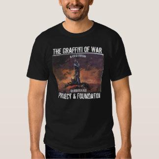 Os grafites do roupa da guerra tshirts