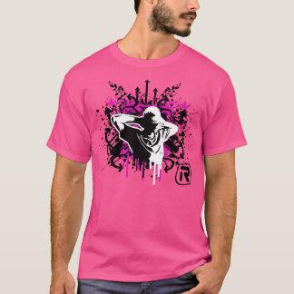 Os grafites relaxam camiseta