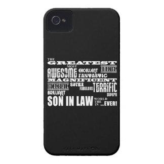 Os grandes melhores filhos no aniversário da lei & capinhas iPhone 4