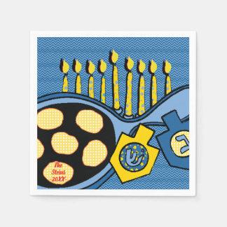 """Os guardanapo de Hanukkah personalizam """"Latkes &"""