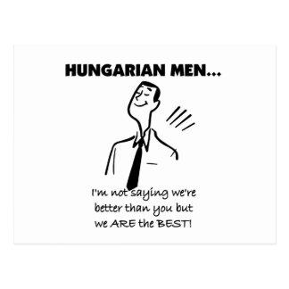Os homens húngaros são os melhores cartão postal