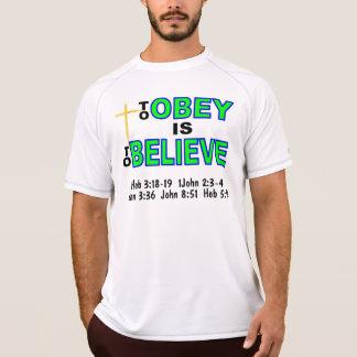 Os homens Preach a camisa Camisetas