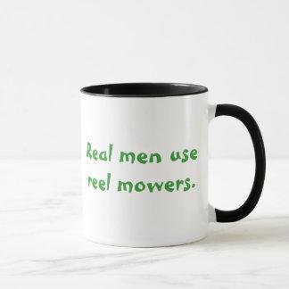 """""""Os homens reais usam caneca das segadeiras do"""