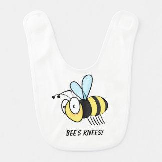 Os joelhos da abelha! babador de bebe