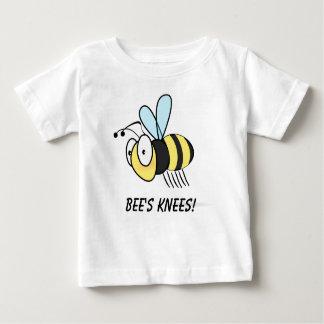 Os joelhos da abelha! camiseta para bebê
