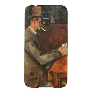 Os jogadores de cartão, 1893-96 capinhas galaxy s5
