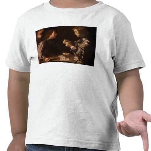 Os jogadores camisetas