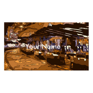 Os jogos de mesa de um casino luxuoso de Vegas Cartão De Visita