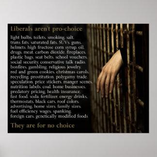 Os liberais não são Pro-Escolha Poster