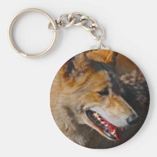 Os lobos são nós chaveiro