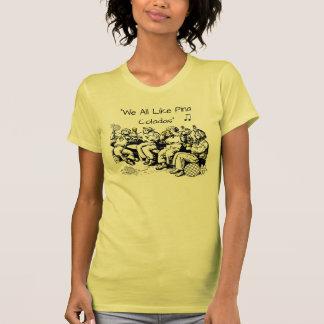 Os marinheiros bêbedos gostam de Pina Coladas Tshirt