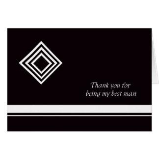 Os melhores cartões de agradecimentos do homem