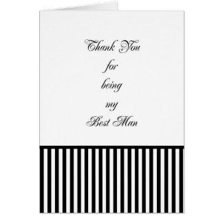 Os melhores cartões de agradecimentos do homem com