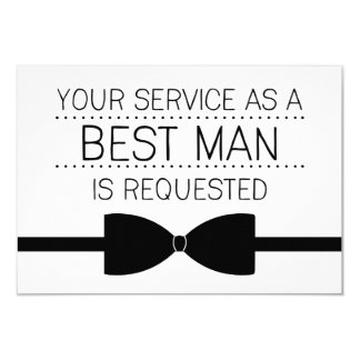 Os melhores padrinhos de casamento do pedido | do convite 8.89 x 12.7cm