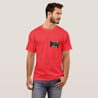 os memes são t-shirt vermelhos macios reais camiseta