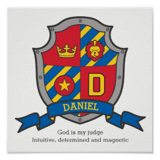 Os meninos de Daniel nomeiam o protetor da Poster