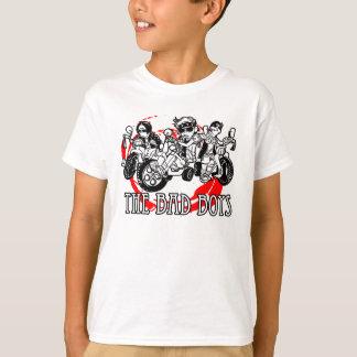 Os meninos maus do triciclo camiseta