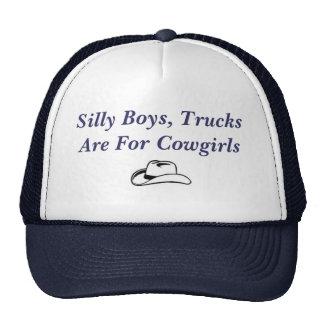 Os meninos parvos, caminhões são para vaqueiras boné