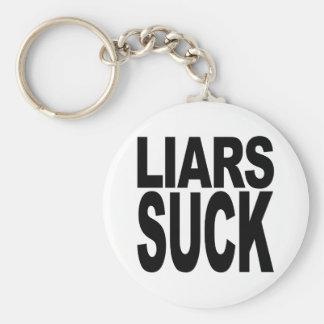 Os mentirosos sugam chaveiro