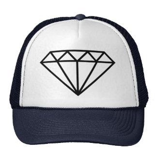 Os milionários tampam, diamante boné