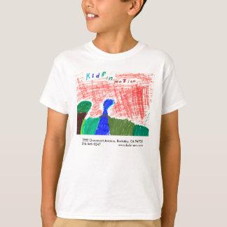 Os miúdos de Marshall na camisa do movimento