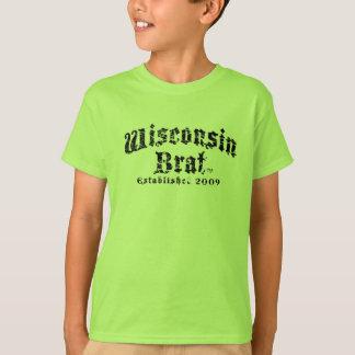 Os miúdos do pirralho de Wisconsin Short a camisa
