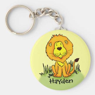 Os miúdos nomearam o chaveiro do leão