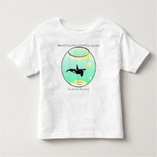 os miúdos registram o treinamento que do potty eu camiseta infantil