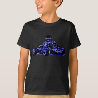 Os miúdos são camisa resistente da raça KART