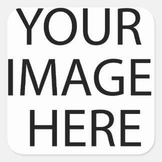 Os modelos colam ou substituem seu texto da imagem adesivo quadrado