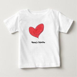Os namorados da mamã camiseta para bebê