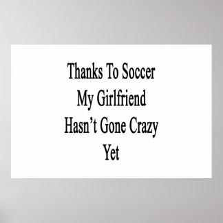 Os obrigados ao futebol meu namorada não têm Y Pôster